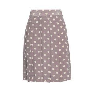 Marc Jacobs Pleated Polka-dot Skirt